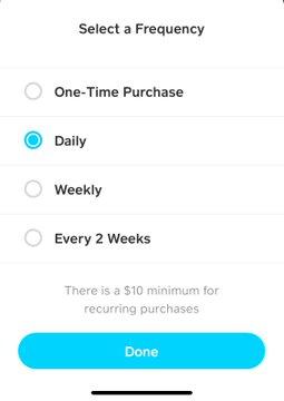 Square запускает автоматическую покупку биткоина