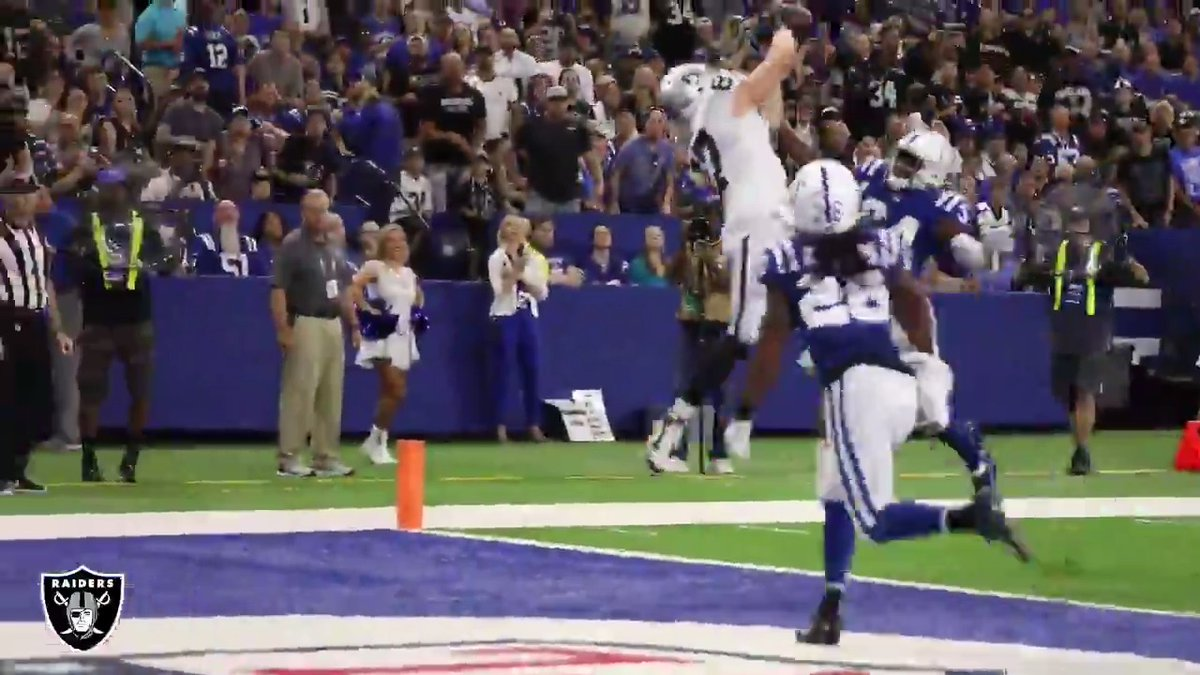We cant stop watching this from all angles @fhmoreau. » More highlights on Raiders.com
