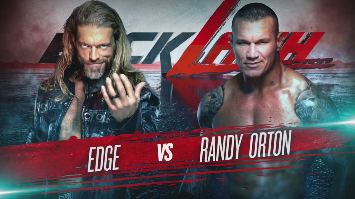 Could this end up being the greatest wrestling match EVER?  @EdgeRatedR and @RandyOrton will do battle one more time at #WWEBacklash! #WWERaw  <br>http://pic.twitter.com/z3prnWhKVk