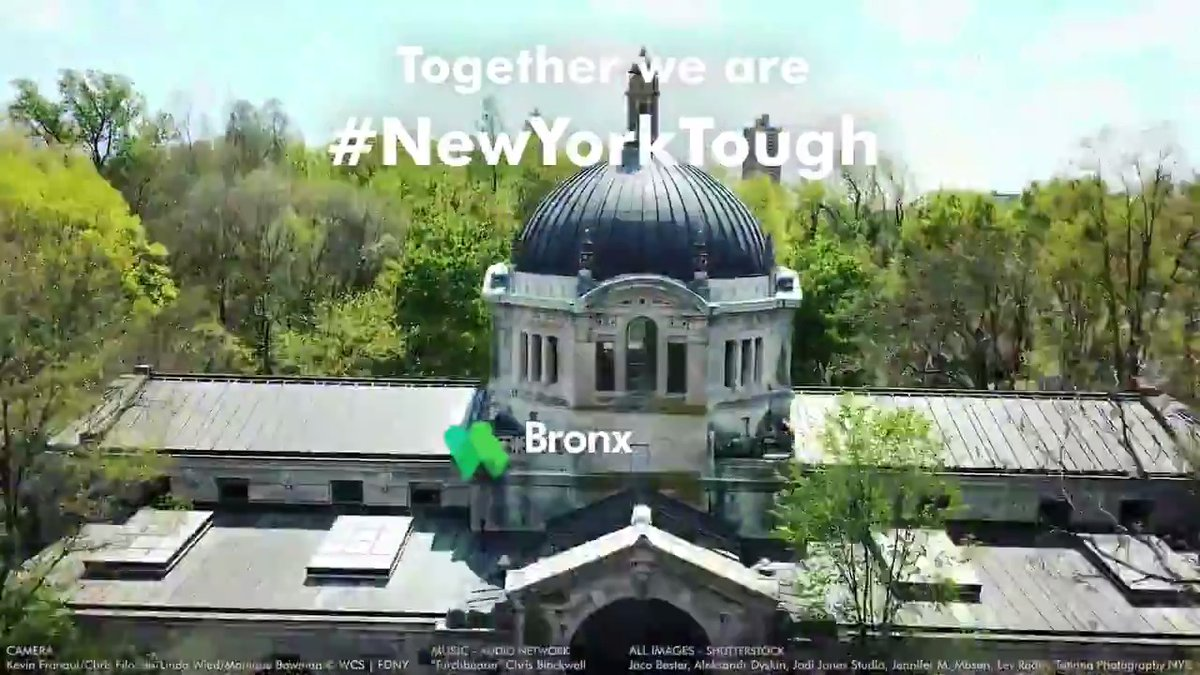 """We wanted to say """"thank you"""" to all the first responders, health care professionals & essential workers for all you have done & continue to do for New York City & its residents throughout the #COVID_19 crisis. Together we are #NewYorkTough. #HealthCareHeroes @JimBreheny"""