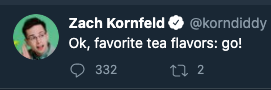 the ratio on this tweet after just 2 minutes is shaking me to my core