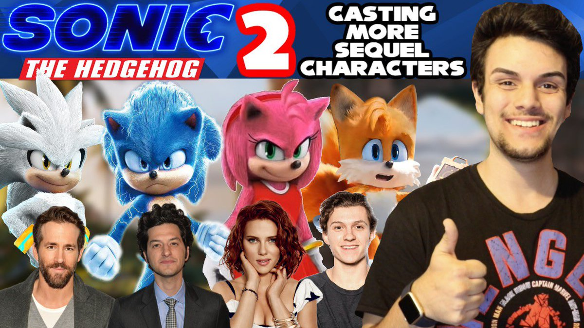 Speedsupersonic On Twitter Casting More Sonic The Hedgehog Movie Sequel Characters Ft Tom Holland Is Up For You All To Spread One Simple Message Cast Tom Holland As Tails In Sonic The
