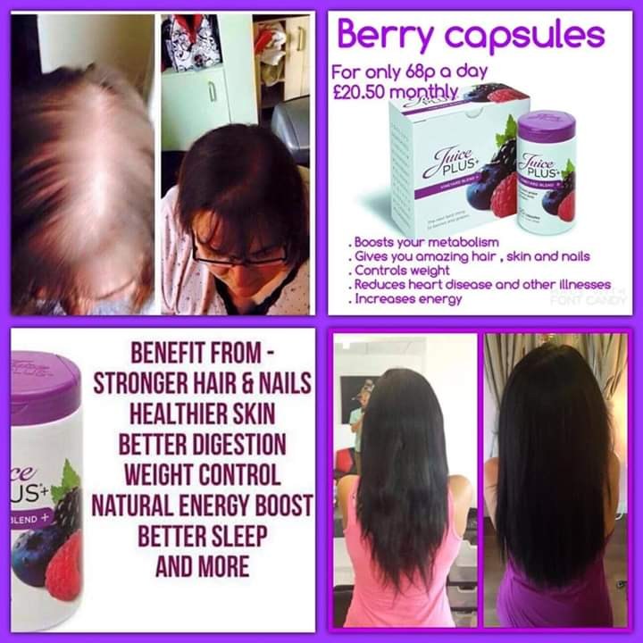 These are great for your nails and hair. #juiceplus pic.twitter.com/49RDizdZjT