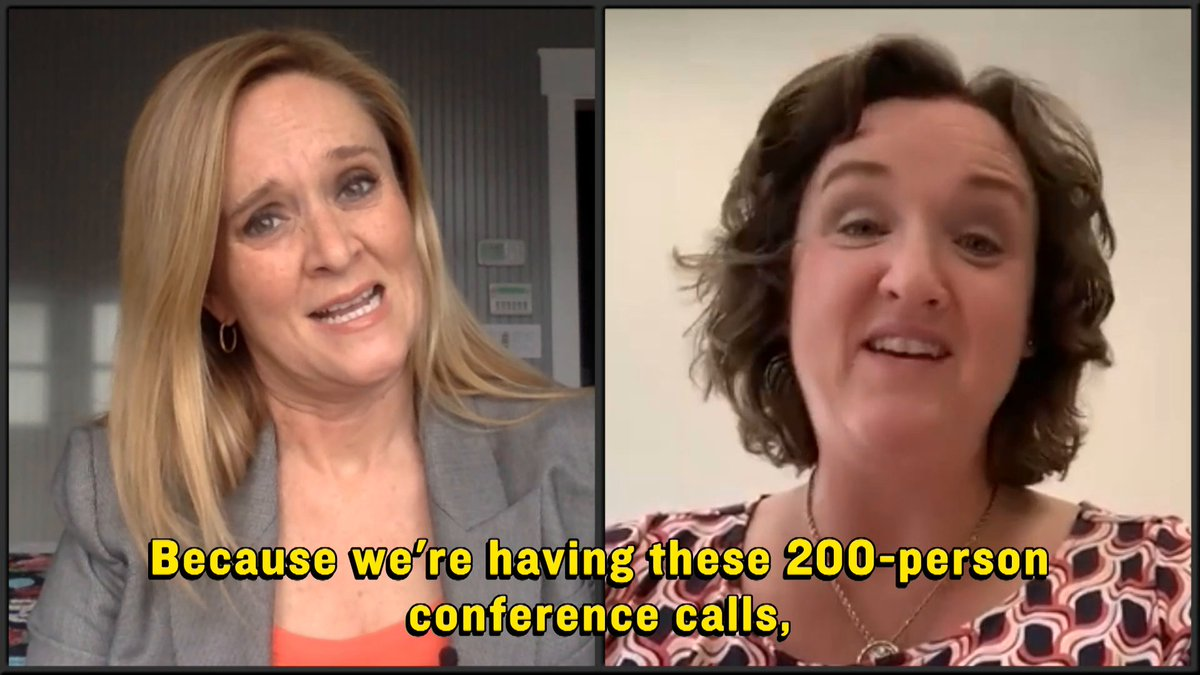 Congress is using video chat to legislate and they keep talking over one another, so basically nothing has changed for Representative @katieporteroc.