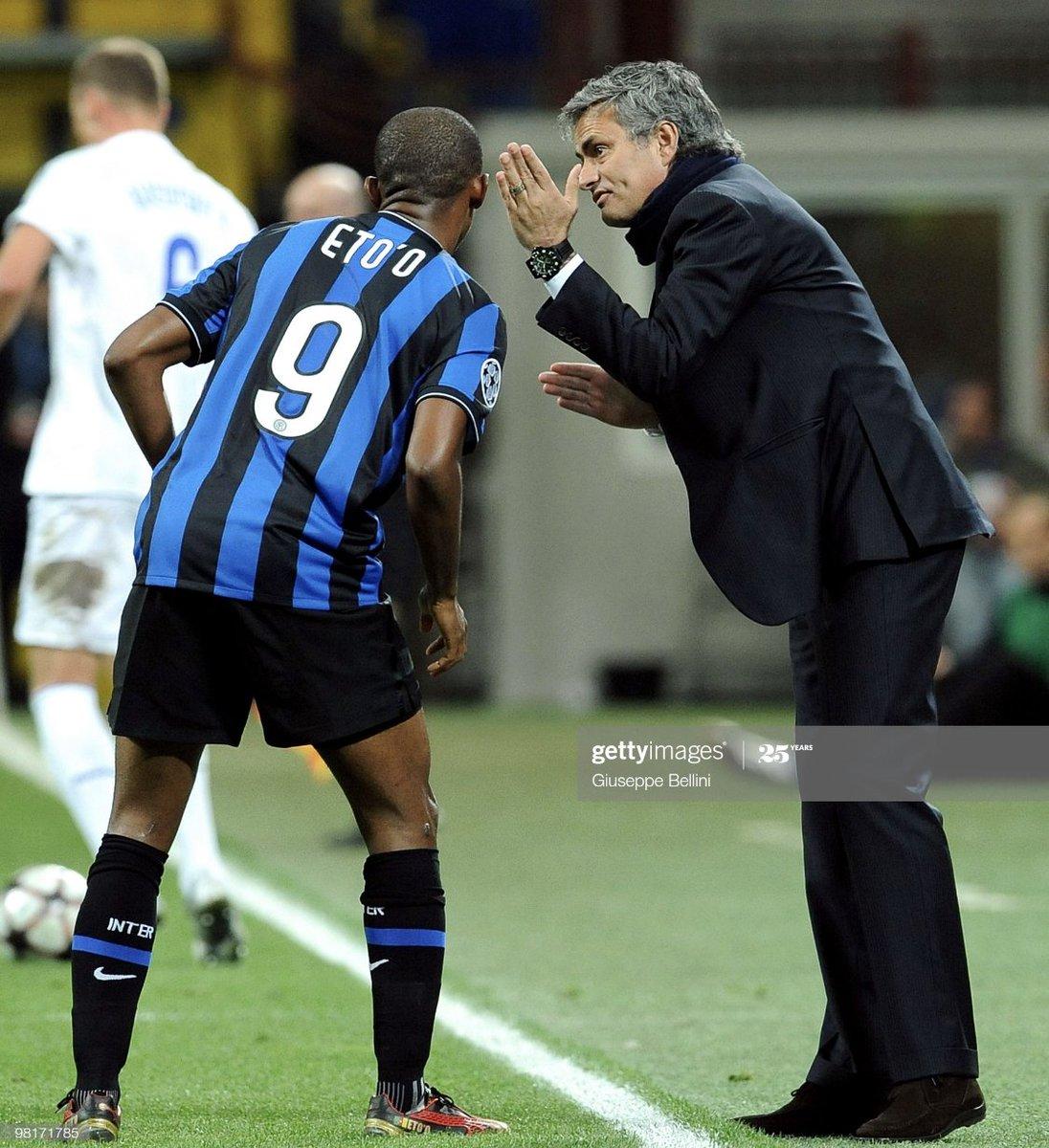 """AllezLesLions على تويتر: """"« Comment Mourinho m'a convaincu de signer à l' Inter ? C'est très simple, il m'a envoyé une photo du maillot de l'Inter  avec le numéro 9 et il m'a"""