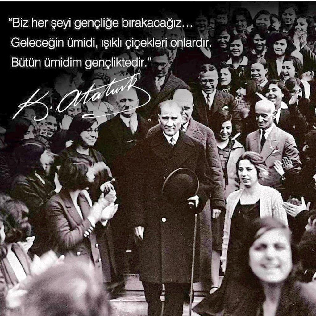 19 Mayıs Atatürk'ü Anma, Gençlik ve Spor Bayramımız Kutlu olsun🇹🇷 🇹🇷 ❤ https://t.co/hls39ngTMJ