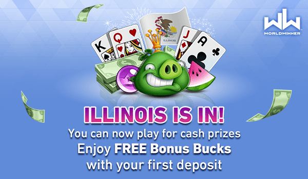 Breaking news, Illinois! You can now play your favorite games to win CASH PRIZES! Download the WorldWinner app now: https://t.co/LR3oGrdnvA  or play on  https://t.co/Zj5GolISuy 🦋🙌🦌🎉🍿  #illinois #cashgames #wincash #playgames https://t.co/85muc9o2q2