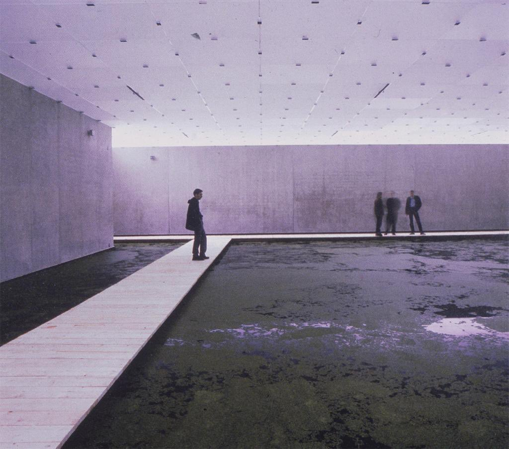 'mediated motion' by olafur eliasson, 2001