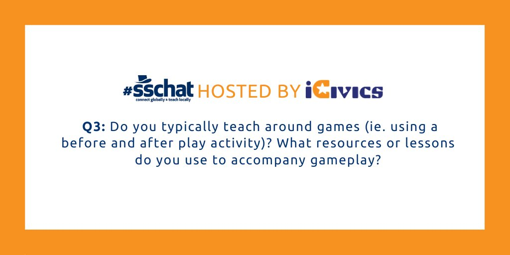Ready for Q3? Here we go. #sschat