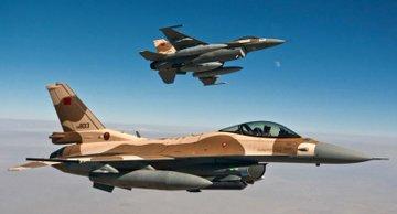 Allez hop 30 minutes et c'est reglé ! 🇲🇦 #FAR #F16 #AH64 https://t.co/6hOs1W0VPe