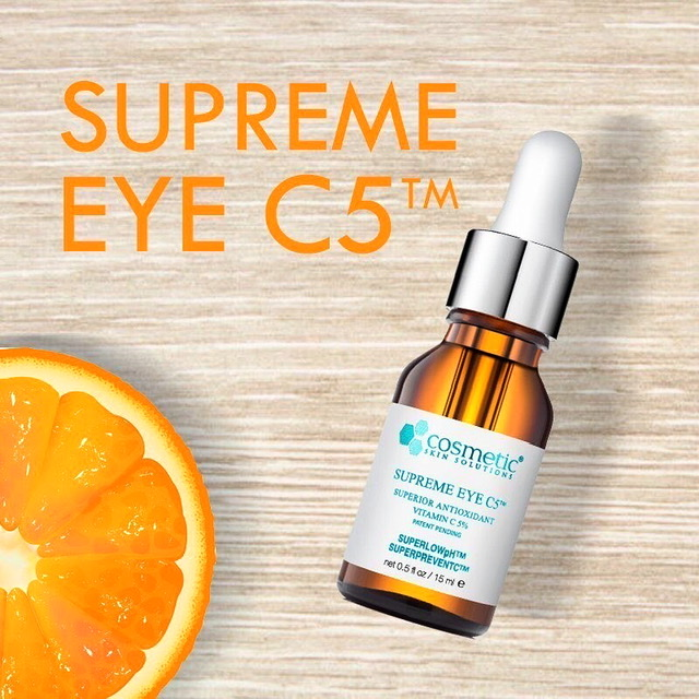 This remarkable, patent pending SUPREMESERUM VITAMIN C™ in a hyaluronic acid gel delivers precisely a medium concentration of vitamin C combined with Asiatic Acid to delicate skin surrounding the orbital of the eye. #skincare #skincaretips #skincareroutine #skincareproducts #eyepic.twitter.com/JhezBcnlx3