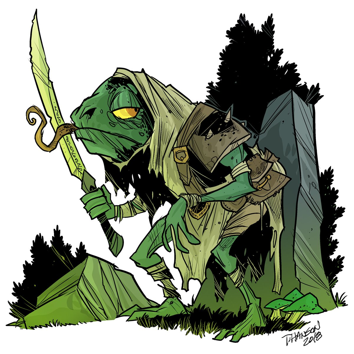 #dnd Monster Monday! Here's the Toadman from Monsters of Feyland! The evil henchman (henchfrog) of the Frog Witch. Book available @DriveThruRPG https://t.co/s6AN6QPARV or at our pre-order store: https://t.co/neUJmdWxvy https://t.co/5o5tiaCVxT