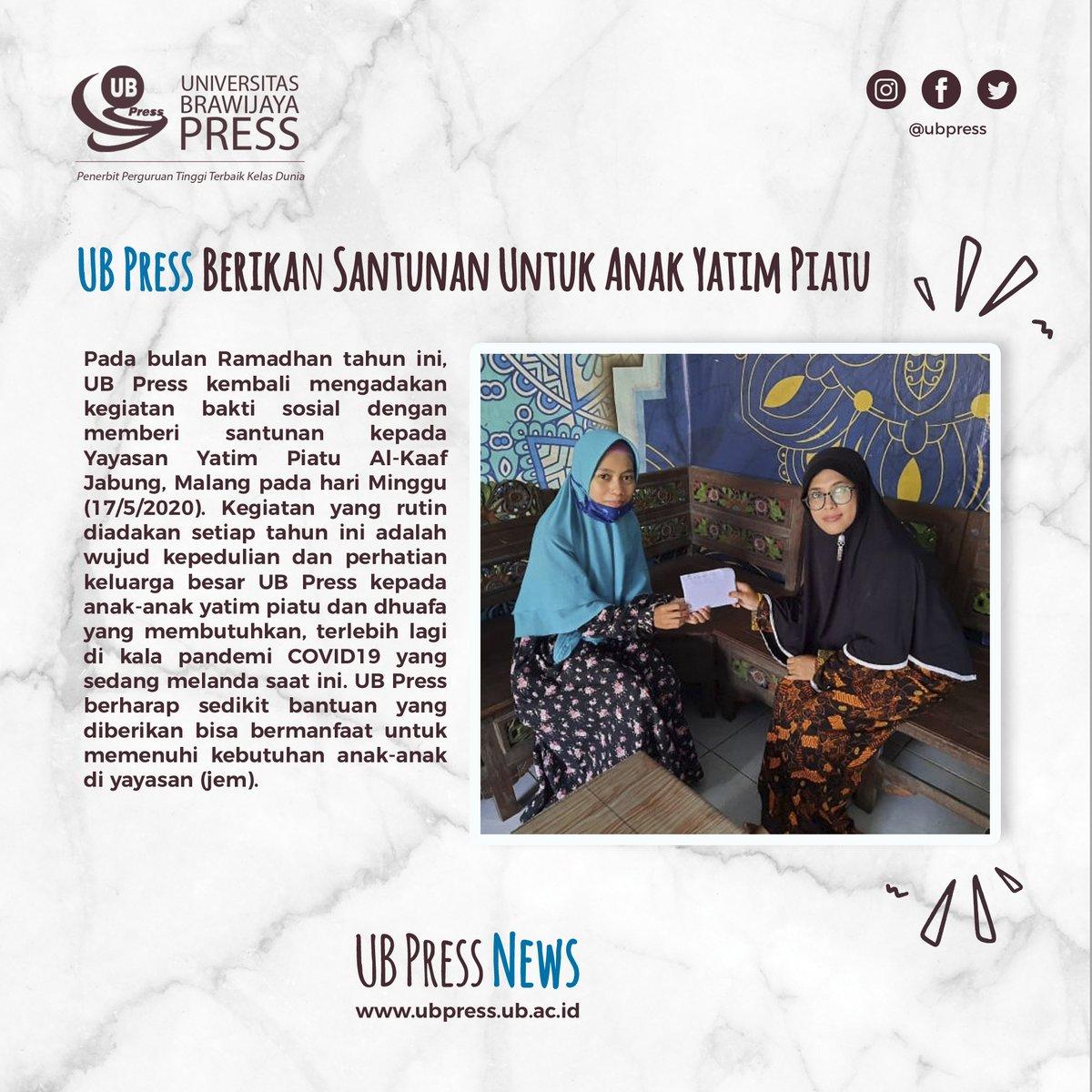 Replying to @UBPress: UB Press Berikan Santunan Untuk Anak Yatim Piatu :)