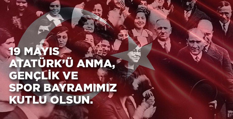 Aklımızda ilkelerin, kalbimizde asırlık gururla 19 Mayıs Atatürk'ü Anma, Gençlik ve Spor Bayramımız kutlu olsun!🇹🇷 #LCWaikiki #19Mayıs https://t.co/ovNYOct1bN
