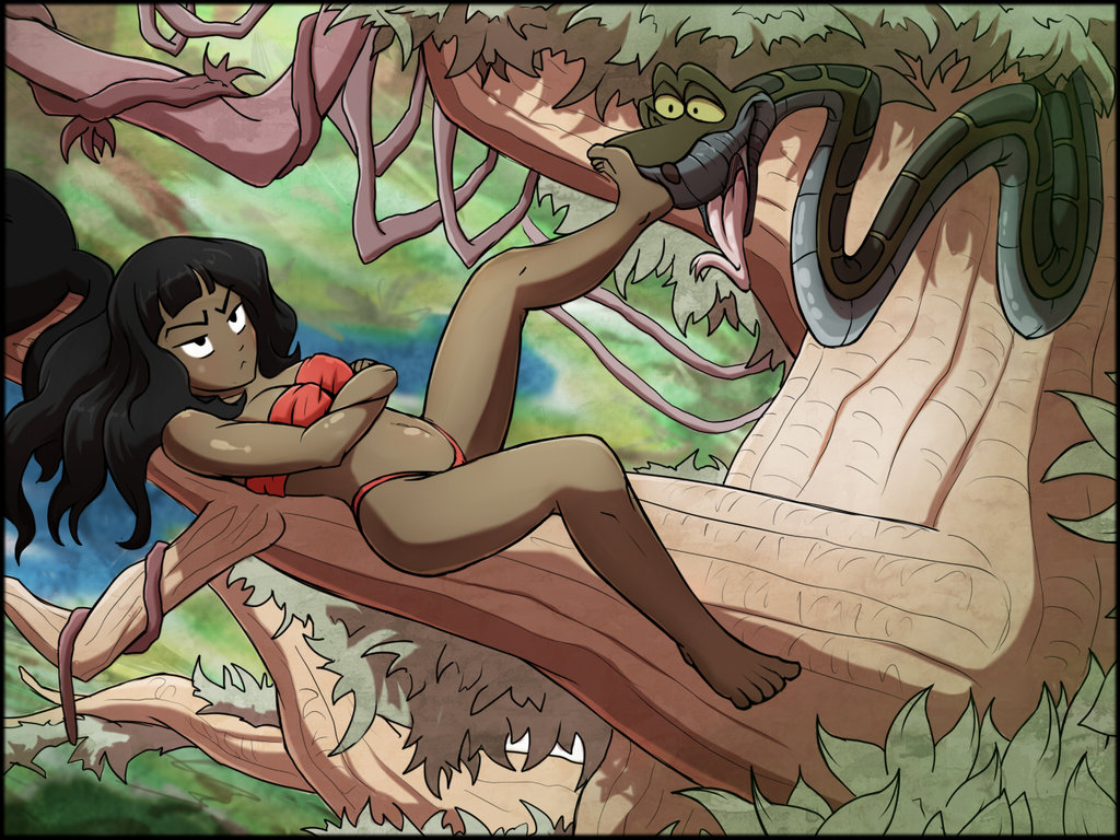 Kaa jungle book porn