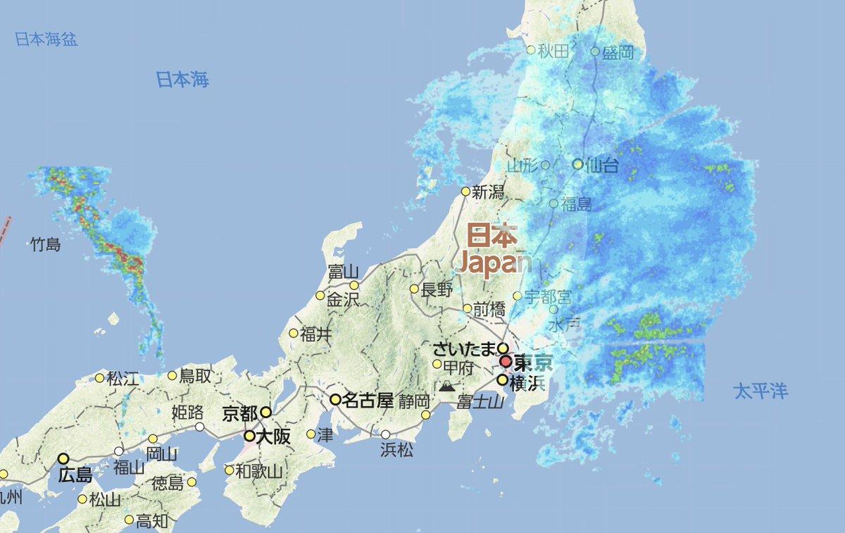 天気予報 埼玉 雨雲レーダー
