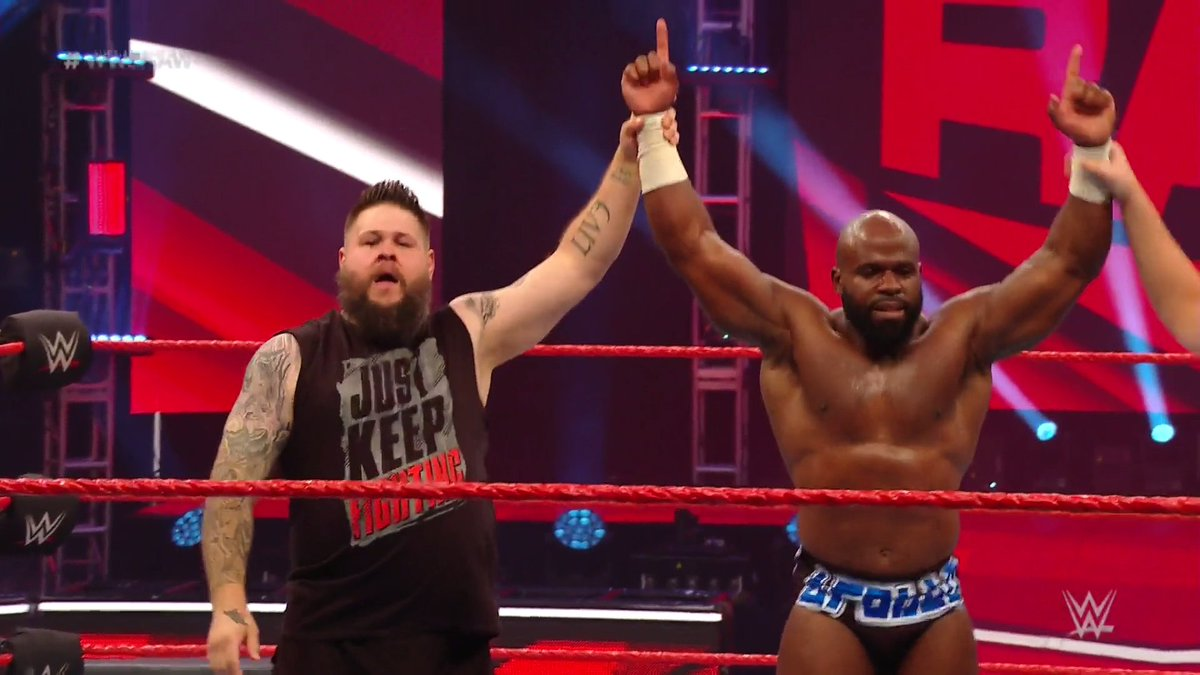 Apollo Crews And Kevin Owens Return To Action On RAW, WWE US Title Match Announced For Next Week