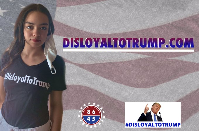 Wear your mask. Wear your t-shirt. Join the team: disloyaltotrump.com