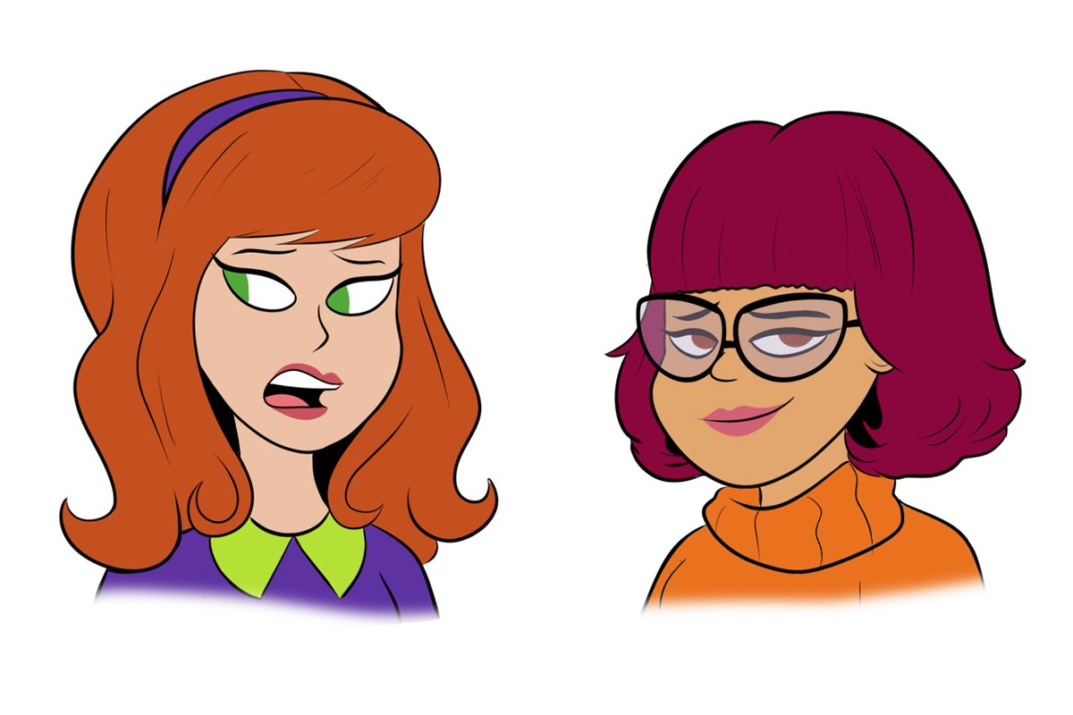 Wanted to do a take on Daphne and Velma from Scoob.