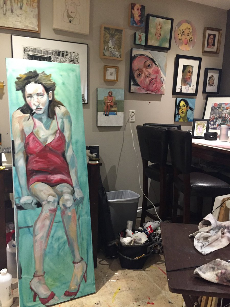Wrapping up #VictoriaDay2020 with a late night in the #studio Have a great week!  #paintingpic.twitter.com/5cEIrJPqHp