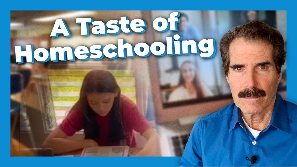 Image for the Tweet beginning: 11% of parents now homeschool,