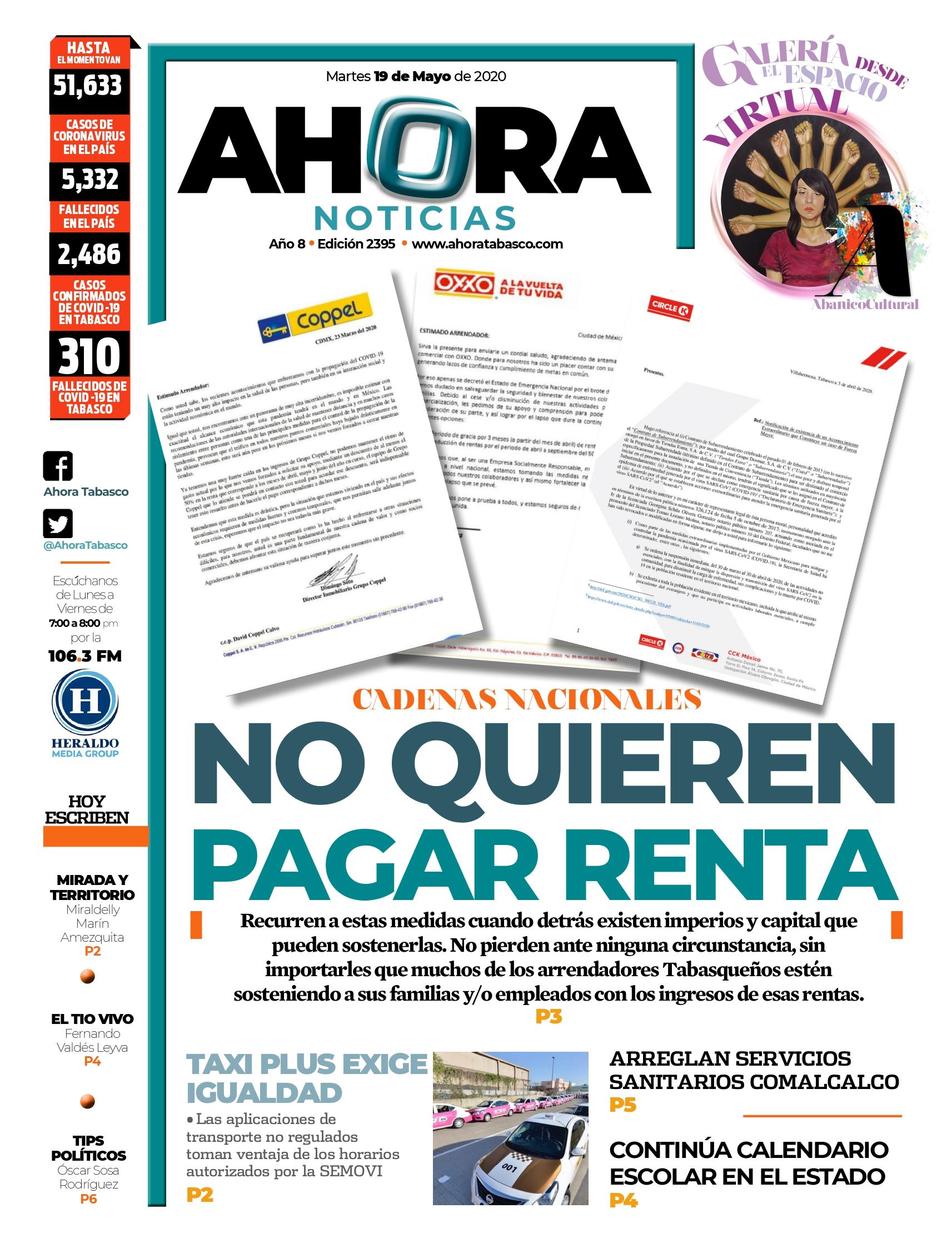 Tiendas en Villahermosa se niegan a pagar renta