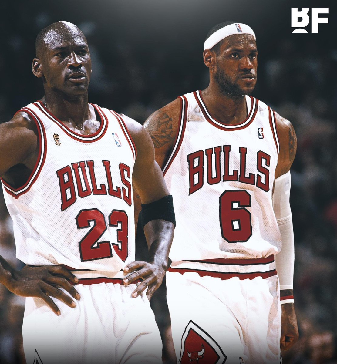 """I feel like my best assets work perfectly with Mike...I saw the things Scottie was able to do with Mike, I just think it would've been a whole 'nother level.""  - LeBron on being teammates with MJ  (via @uninterrupted) https://t.co/b0G8aW9BHq"