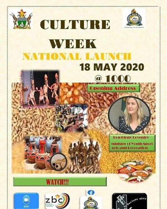 Zimbabwe culture  week national launch