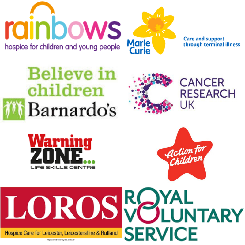 So proud to be working with these amazing #charities Their staff+volunteers do such incredible work supporting others. @barnardos @mariecurieuk @RainbowsHospice @CR_UK @Warning_Zone @actnforchildren @LOROSHospice @RoyalVolService #Kindness #MentalHealthAwarenessWeek