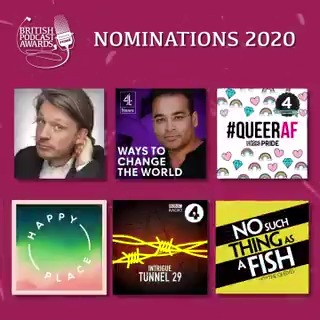 ...and finally, here are the nominations for @acast Moment of the Year: @studentpride, @fearnecotton, @nosuchthing, @Herring1967, @bbcsounds and @channel4news #britpodawards