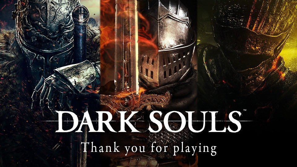 The DARK SOULS series has sold over 27 million units to date. We are incredibly grateful to every single one of our players. This success is owed to you.  We hope you continue to enjoy our games, and look forward to Elden Ring, the new Action RPG that's currently in development. https://t.co/697rctd7wZ