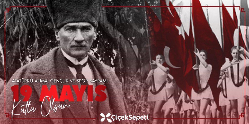 19 Mayıs Atatürk'ü Anma, Gençlik ve Spor Bayramımız kutlu olsun! 🇹🇷 https://t.co/cEZ070aOh5