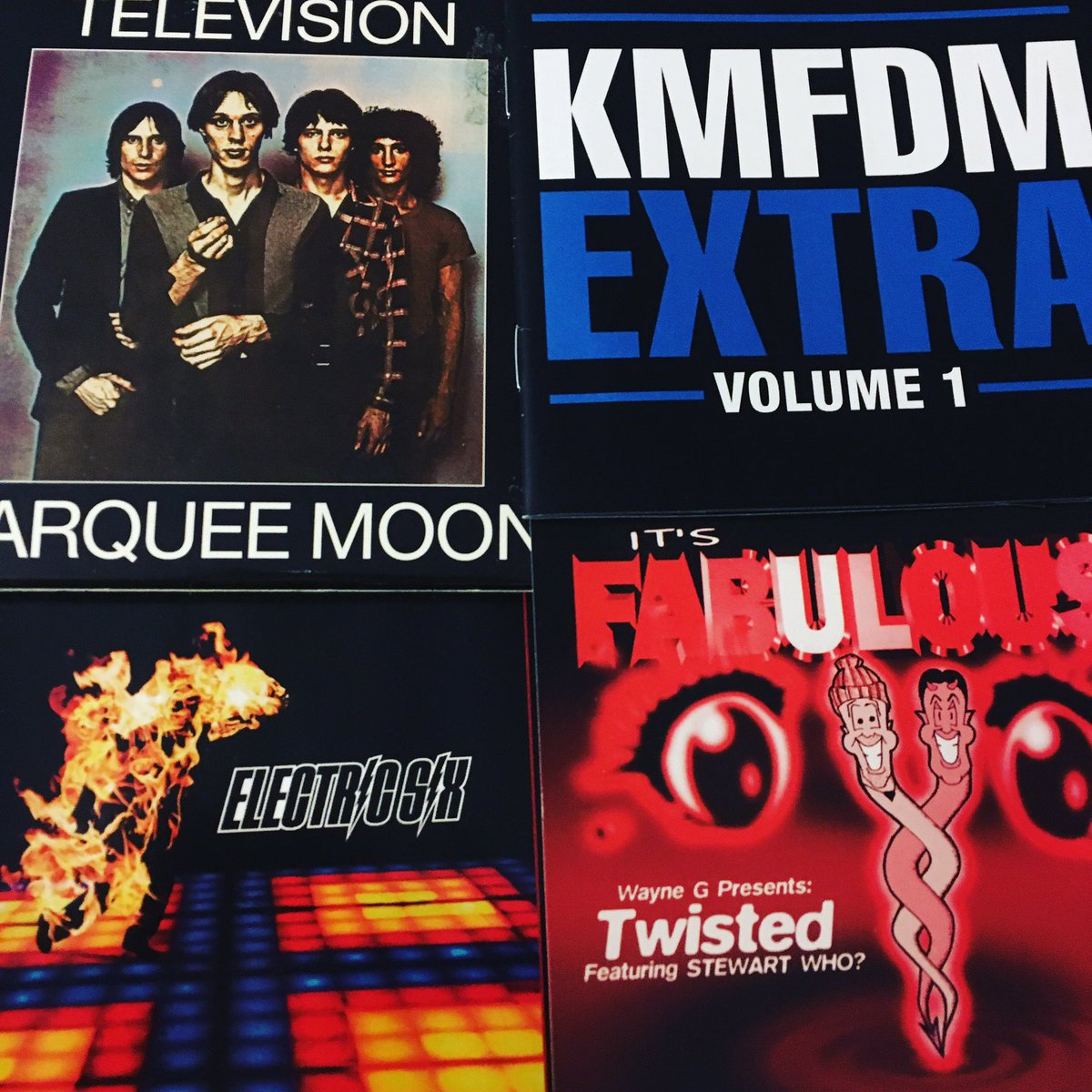 Adding more discs to the digital cache. Wanna hear anything from these? Tune in tonight from 7-11 Central and we can make it happen. twitch.tv/soundawakeradio