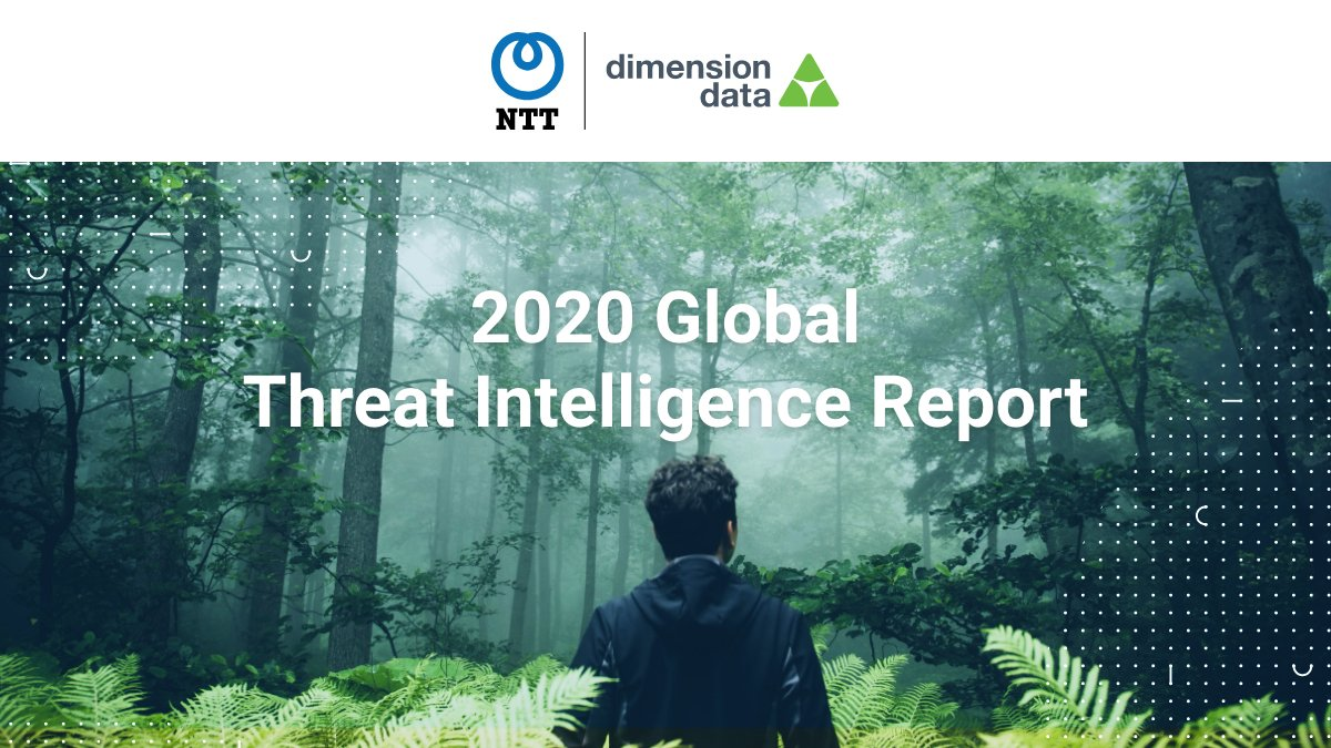 We're excited to announce that our parent company NTT Ltd. has just released the 2020 Global Threat Intelligence Report. Get a comprehensive view of the types of threats impacting global organisations here: https://t.co/GWmCX3k9rH #cybersecurity #GTIR2020 https://t.co/dCNNYlzgBA