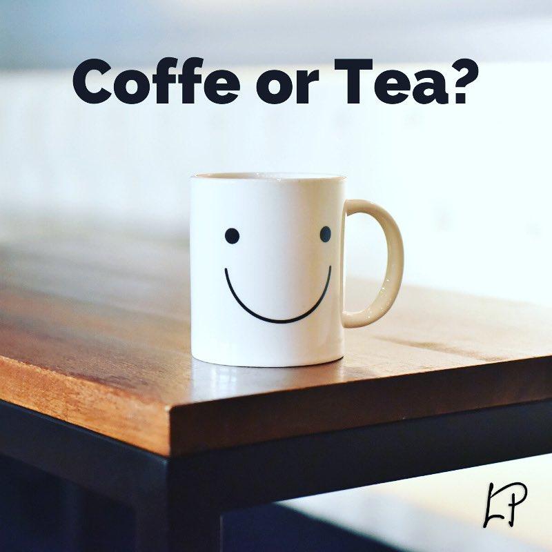 I'm a COFFE person! 🙂 You?   #questiontime #coffe #tea #connect #daily #motivation #lukaparac #lpnation #lpstudio #positive #ask https://t.co/ZkvBYW9vyQ