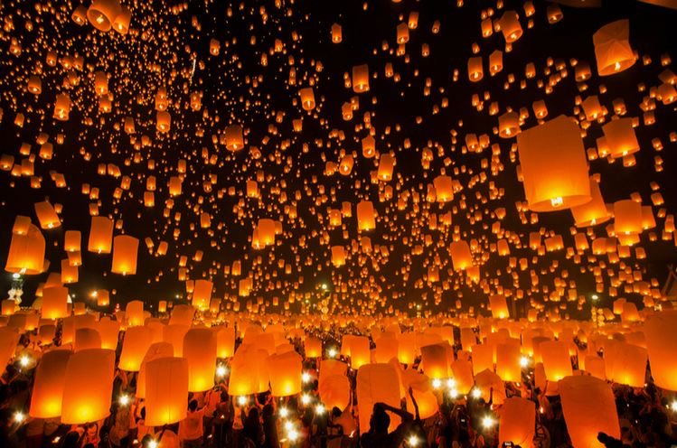 Oh to be at a lantern festival 😍✨