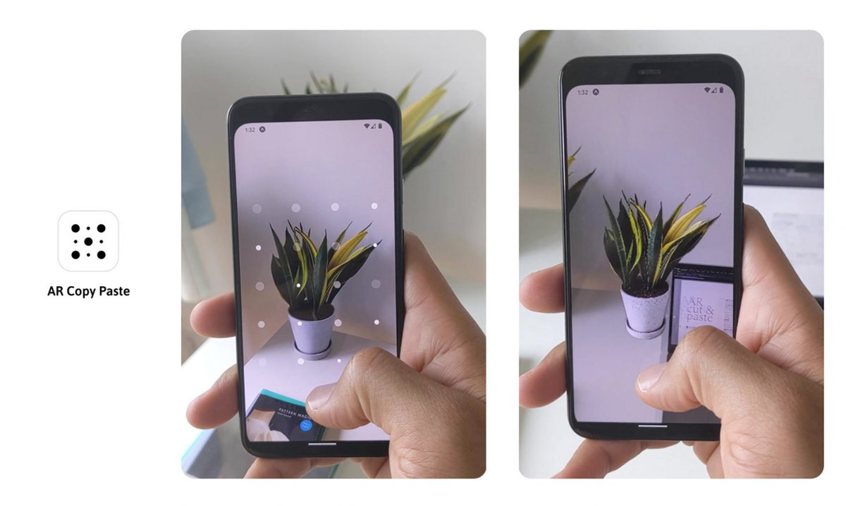 Designer and programmer Cyril Diagne has created an augmented reality tool that can capture images of real-world objects and add them to a computer program in a few seconds. #dezeen #design #smartphone #technology #AR https://www.dezeen.com/2020/05/16/ar-copy-paste-augmented-reality-tool-cyril-diagne/…pic.twitter.com/JsuJWhv0Kc