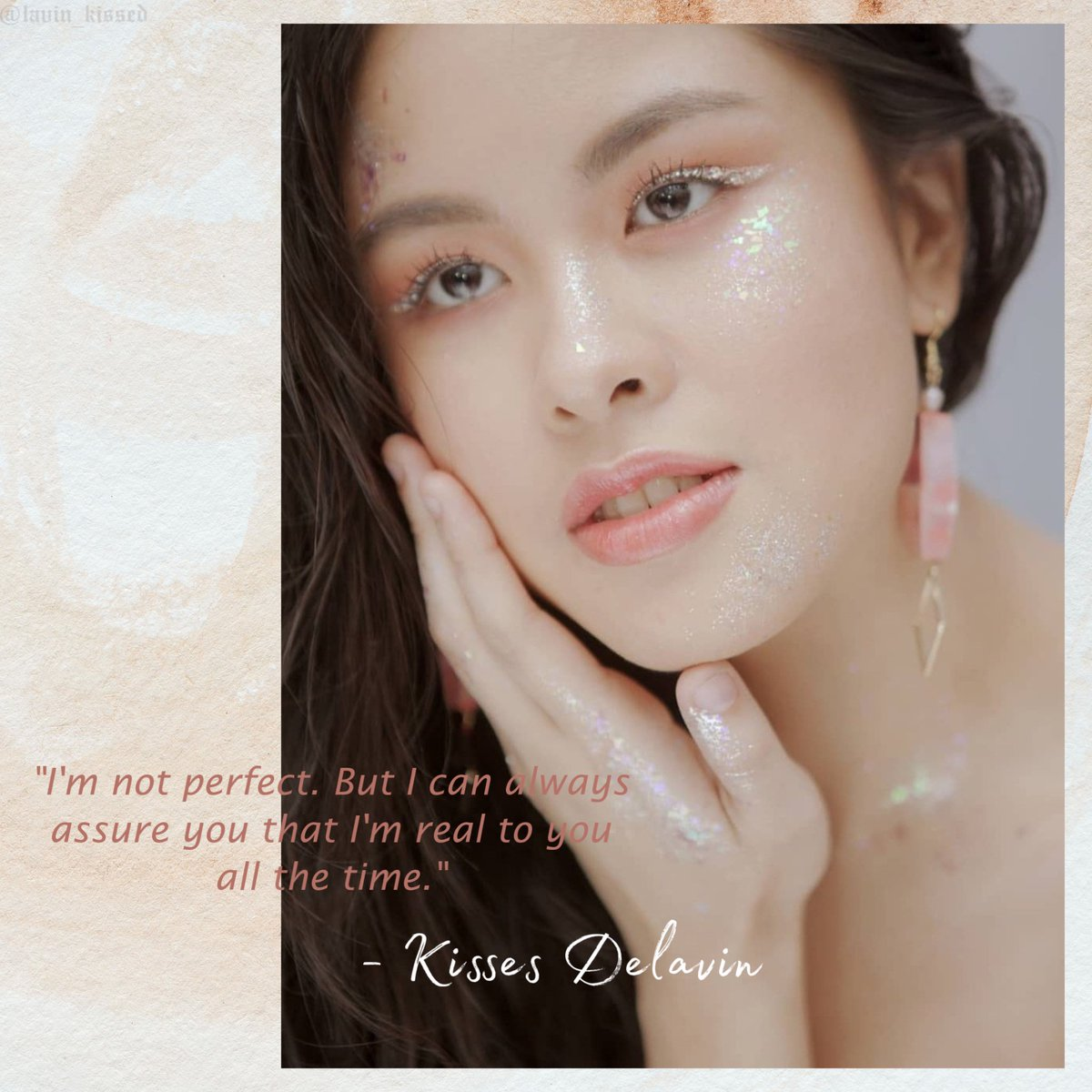"""""""I can always assure you that I'm real to you all the time."""" - @KissesDelavin  TUEStayWith KISSES  #KissesDelavin <br>http://pic.twitter.com/BAPc38g1bB"""