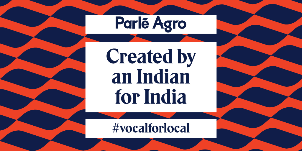 Building Parle Agro has been a passionate journey over four generations of proud Indian leaders.  #VocalForLocal  #ProudtobeIndian https://t.co/hDmzULuHOQ