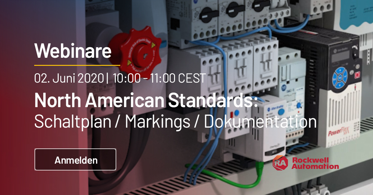 North American Standards Webinar 4:  Markings, Dokumentation & Schaltplanerstellung. Jetzt anmelden! #webinar https://t.co/MpsMc9rFOG https://t.co/xeeD5LyeWO