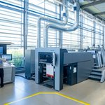 Image for the Tweet beginning: Heidelberg lance une multitude d'innovations