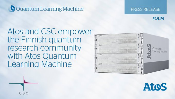 We delivered Atos Quantum Learning Machine, the world's highest-performing commercially...