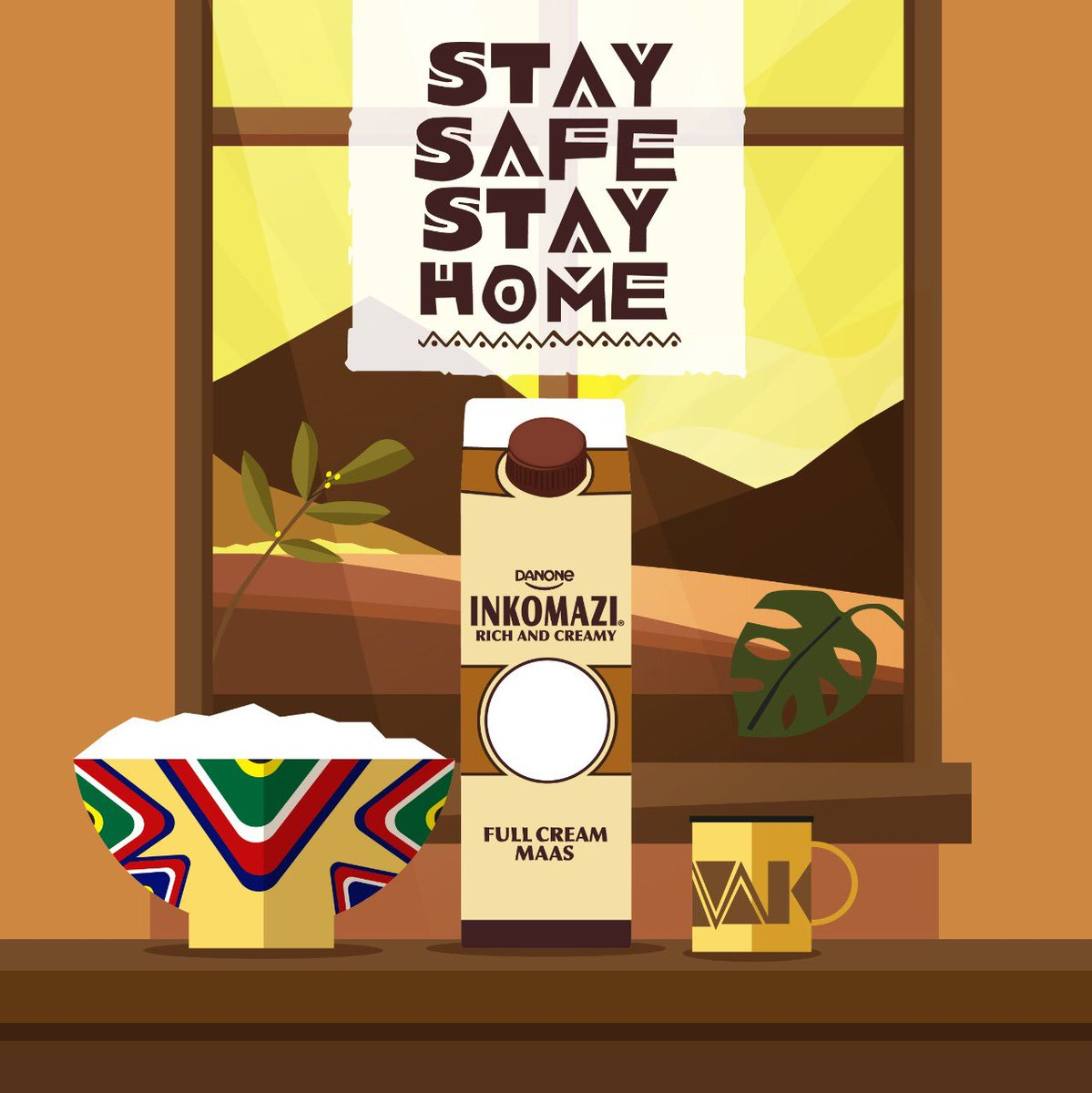 Sisonke even if we are apart. Stay home and stay safe, for this too shall pass. And when it does, the things we love most can be shared and enjoyed together again. #kuzolunga #gotlaloka