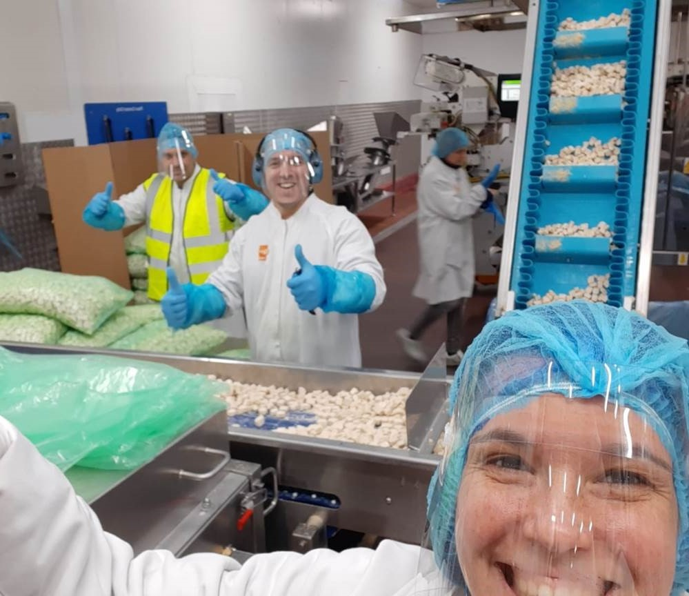 We're so grateful to all employees who have been working safely in our factories to help fulfil our mission to feed the world with great tasting and sustainable food at this critical time. Thank you all and no matter how far apart, we're in this together!🧡 #StaySafe #Quorn