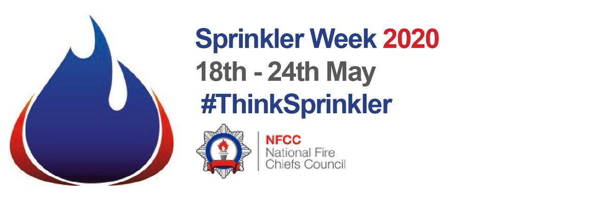 Along with #ThinkSprinkler week this week, May is #FireKills month.  If you have any responsibility for a business you should check signs and lighting along escape routes are visible and in working order. Our #BSAs can give you further advice and guidance of the requirements. pic.twitter.com/MRzXJV2azE