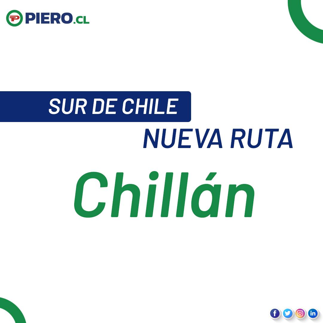 ¡Atención #Chillan 🚛! ¡Ya llegamos al sur de #Chile 🇨🇱! 👌🏻 Para más información, llámennos a nuestra oficina de #SantiagoDeChile a los teléfonos (2) 2 979 90 28 | (2) 2 979 90 29 | (2) 2 571 41 39 📦 https://t.co/a3VTYSYjJ7