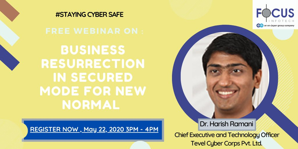 test Twitter Media - DataSecurity remains the top concern of all businesses,to address this issue and know how you can secure your data and network attend our webinar this Friday 22nd May 2020 at 3 pm.  REGISTER NOW : https://t.co/gdEIPLf3n7 https://t.co/HEpRNdsFN2