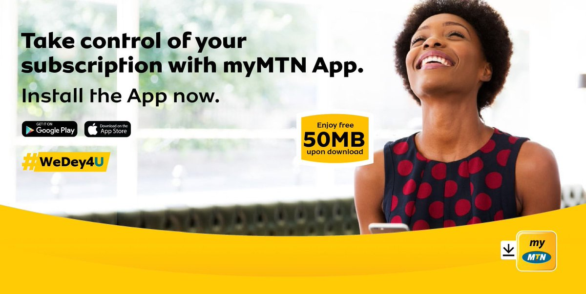 Enjoy the convenience of MoMo and everything MTN in one place. Convenient, Safe and Secure, that's why we're #GoodTogetther. Click on the links below to Install myMTN App. #WeDey4U iOS : https://t.co/tqFL6V5aI6 Android : https://t.co/4CQLctsjAl https://t.co/zxVgR0HSnw