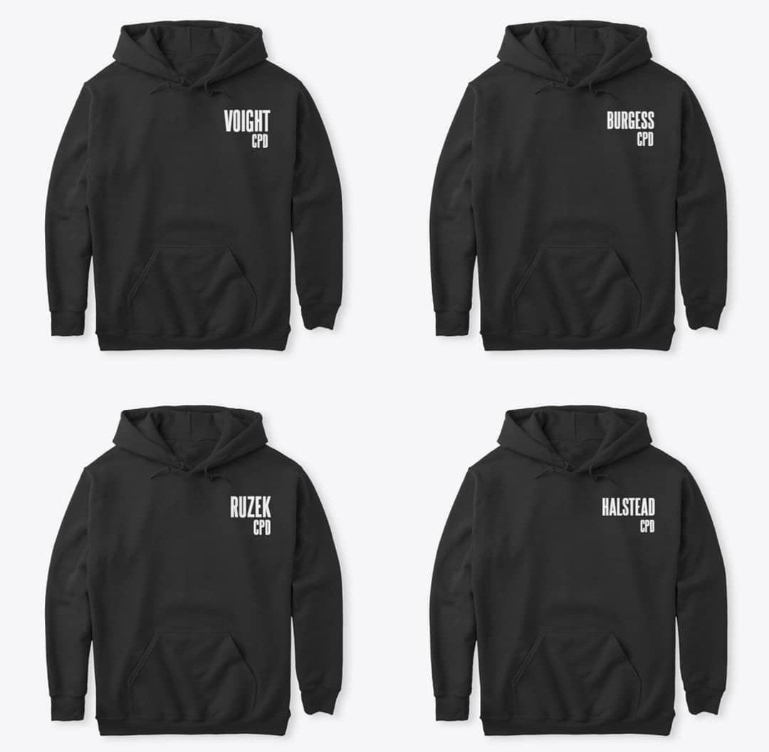 HOODIES are now available (thanks to a suggestion) and come in up to a size 5XL.  Click on the crewnecks for the hoodie option -  https:// teespring.com/stores/chicago -pd-fan-merch   …   They start at $26.  #ChicagoPD #hankvoight #adamruzek #kimburgess #jayhalstead #kevinatwater<br>http://pic.twitter.com/lVghiuT3jO