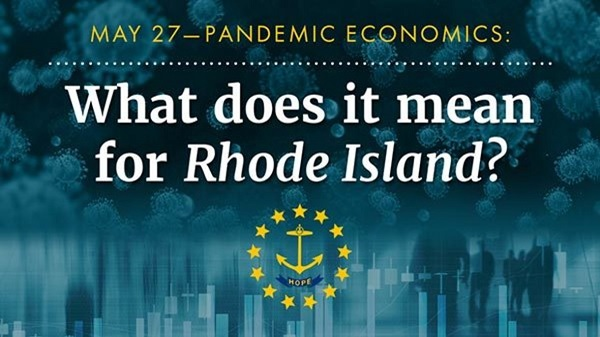 "The 2nd panel in the series, ""Pandemic Economics,"" on Public Finances in RI is happening Wed., May 27 at 10 a.m. Presented by @BryantUniv and @RIFoundation the series was created help Rhode Islanders understand the economic impact of COVID-19. More: https://t.co/YJKQxXwYYY https://t.co/AnRySQFBC6"